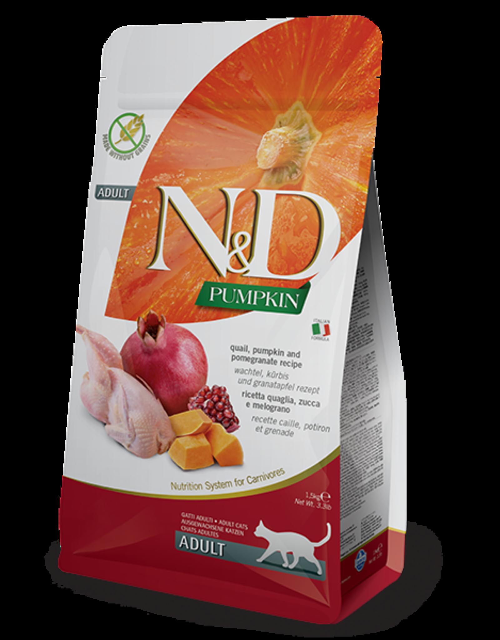 Farmina N&D Cat - Pumpkin, Quail & Pomegranate Adult