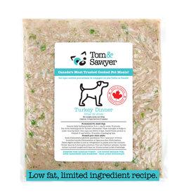 TOM & SAWYER Tom & Sawyer Frozen Dog Turkey Dinner