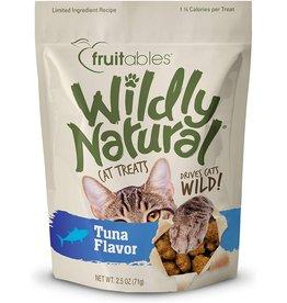 Fruitables WILDLY NATURAL  CAT TREAT TUNA 2.5OZ