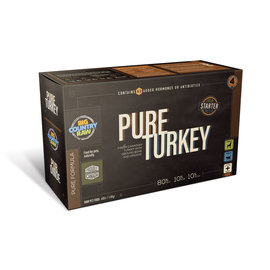 Big Country Raw Big Country Raw - Pure Turkey 4 LB