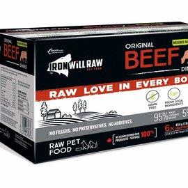 Iron Will Iron Will Frozen - Original Beef Dinner 6lb