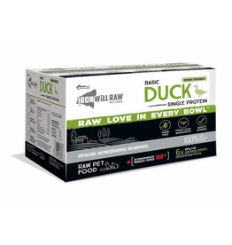 Iron Will Iron Will Frozen - Basic Duck 6lb