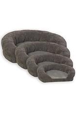 k&h ortho bolster sleeper 20'' gray pet bed