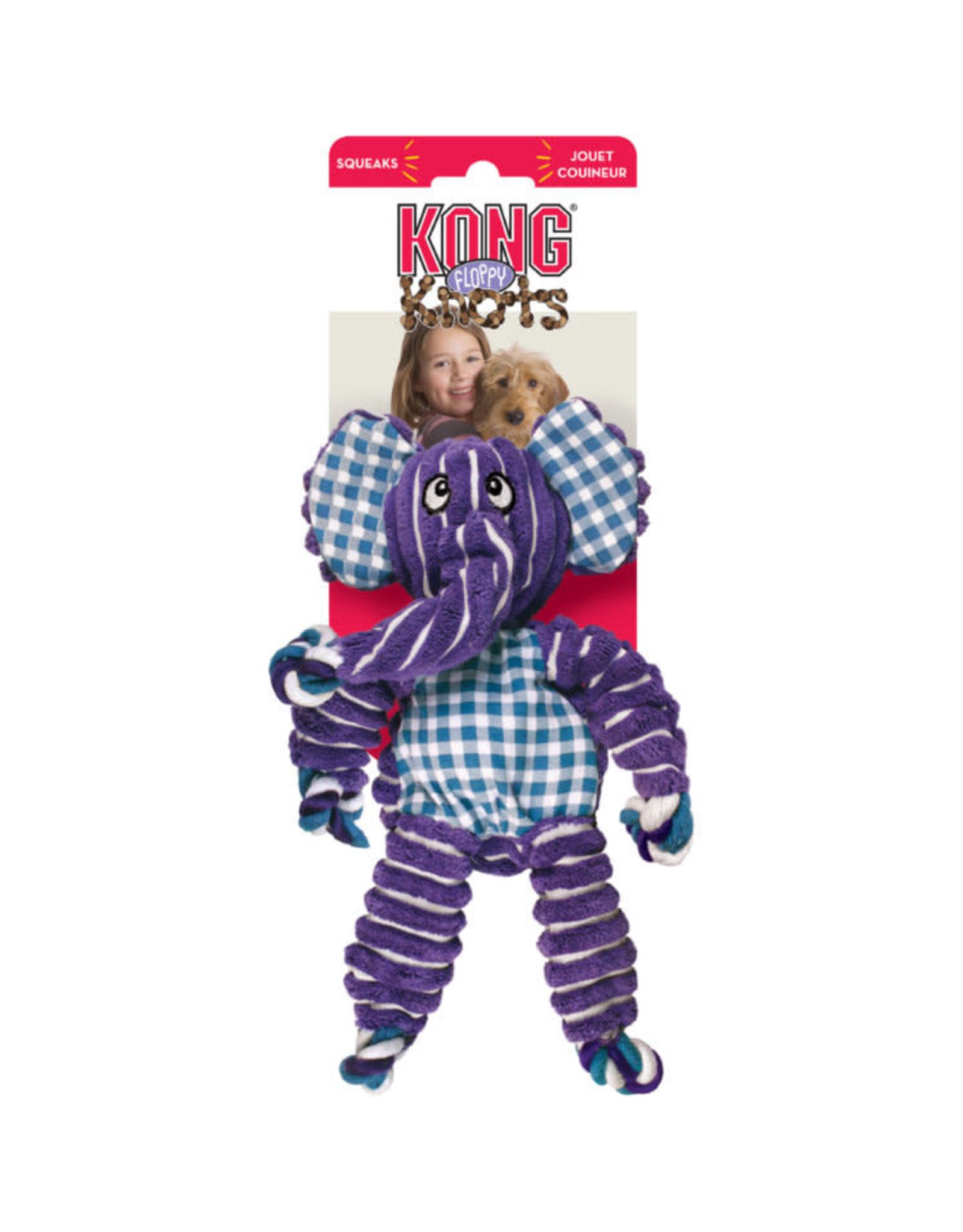 KONG Dog - Floppy Knot Elephant medium