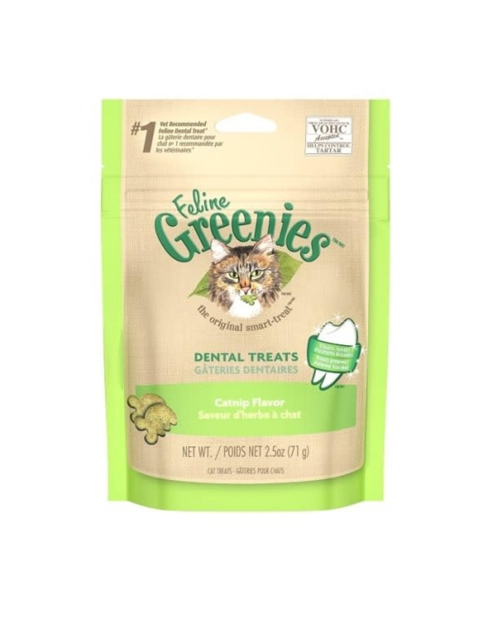 Greenies feline greenies catnip flavor cat