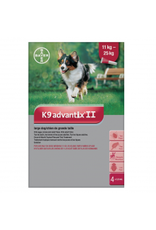 K9 Advantix II for Large Dogs 11-25KG (4 doses)