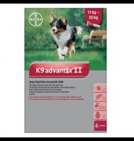 K9 Advantix II for Large Dogs 11-25KG (4 doses)