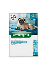 Advantage II for Medium Dogs 4.6-11KG (4 doses)