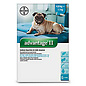 Bayer Advantage II for Medium Dogs 4.6-11KG (4 doses)