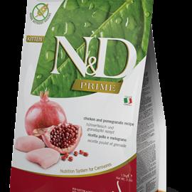 Farmina N&D Cat Dry - Prime Chicken & Pomegranate Kitten 3.3lb