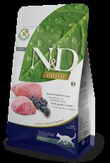Farmina N&D Cat - Prime Lamb & Blueberry Adult 3.3lb
