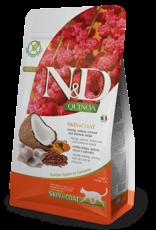 Farmina N&D Cat - Skin+Coat Quinoa, Herring & Coconut Adult 3.3lb