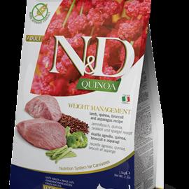 Farmina N&D Cat Dry - Weight Management Quinoa, Lamb & Broccoli Adult 3.3lb