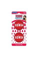 KONG SIGNATURE BALL DOG MD 2PCK