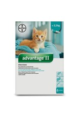 Advantage II for Kittens under 2.3KG (4 doses)