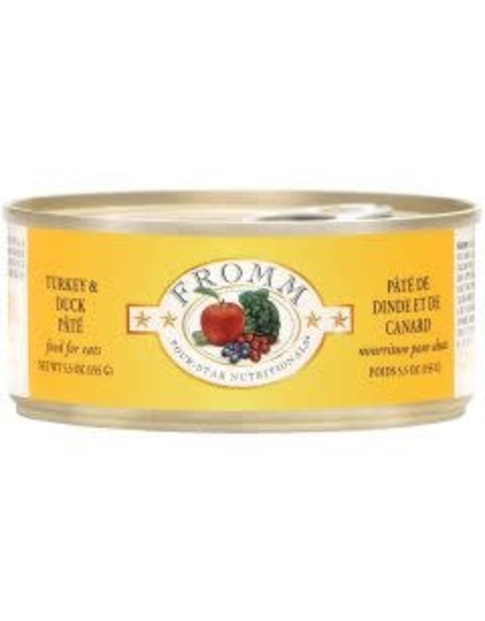 Fromm FROMM Cat - Turkey/Duck Pate 5.5oz