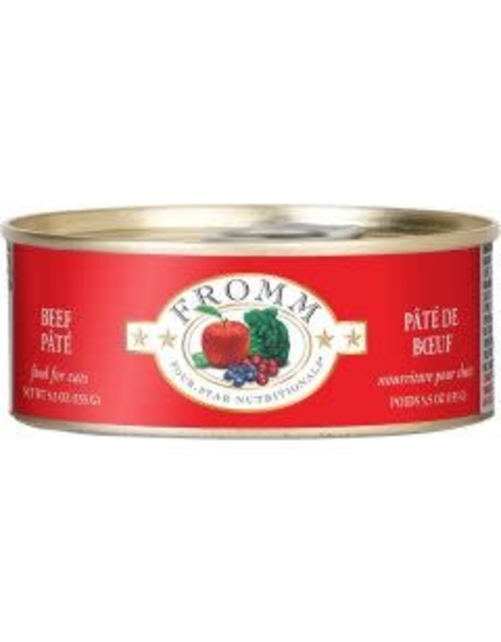 Fromm FROMM Cat - Beef Pate 5.5oz