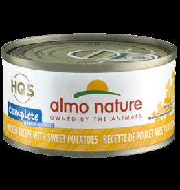 Almo Nature Almo Cat - HQS Complete Chicken/Sweet Potato 70g