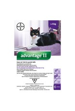 Advantage II for Large Cats over 4KG (4 doses)
