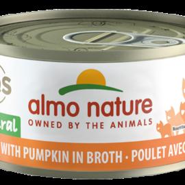 Almo Nature Almo Cat - HQS Natural Chicken/Pumpkin 70g