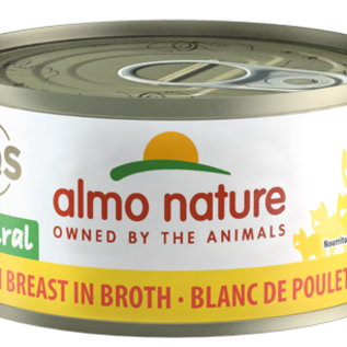 Almo Nature Almo Cat - HQS Natural Chicken Breast in Broth 70g