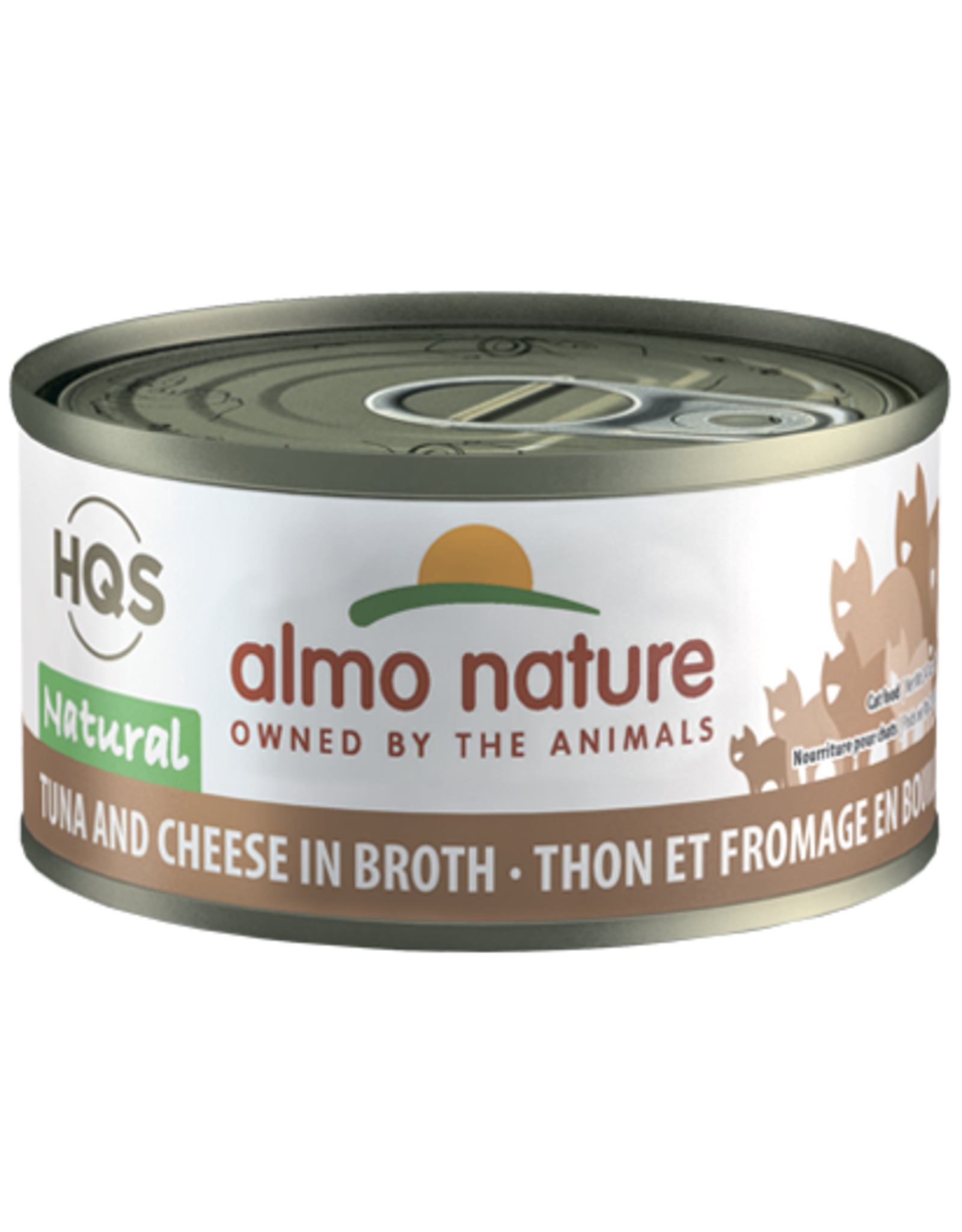 Almo Nature Almo Cat - HQS Natural Tuna/Cheese 70g