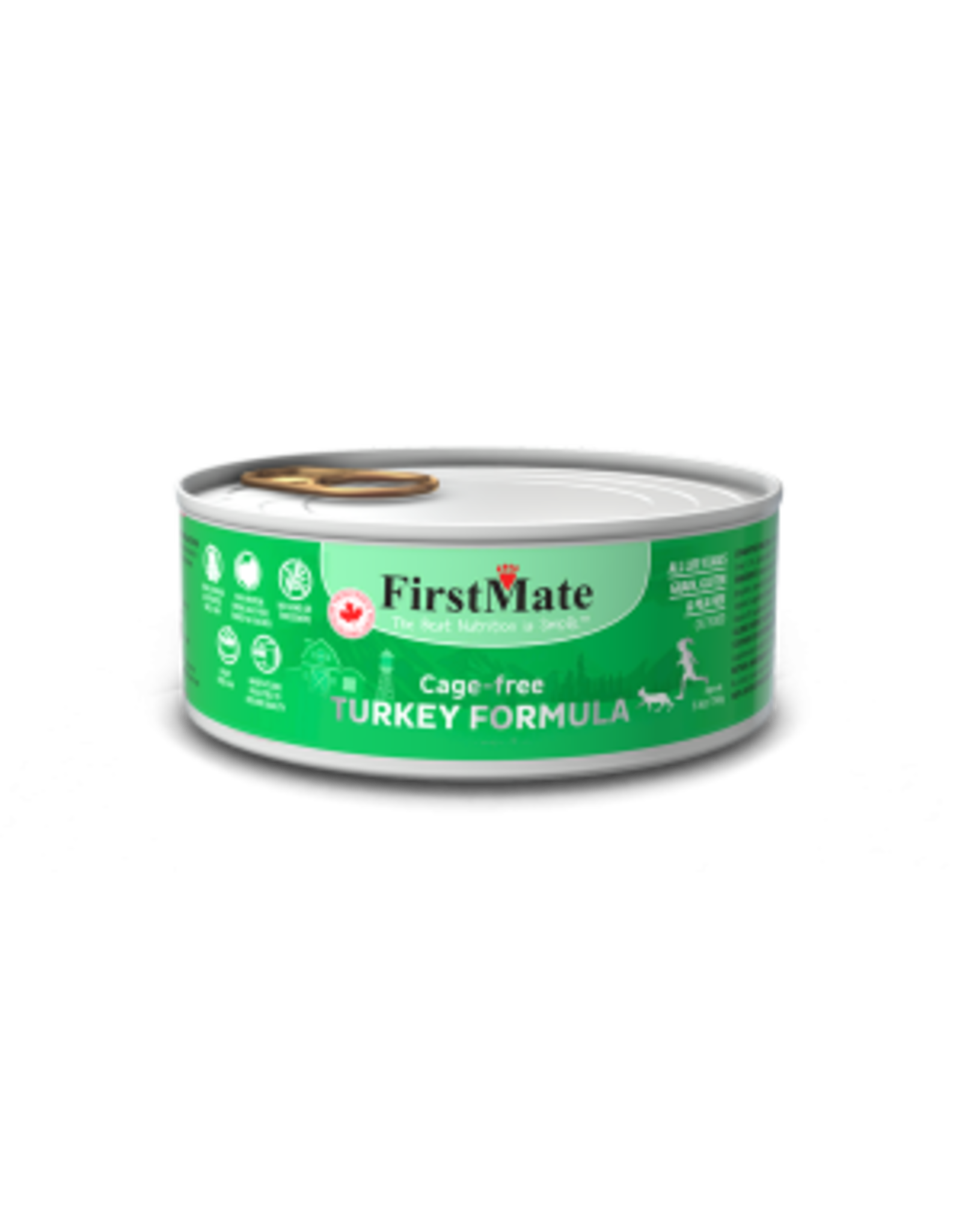 FirstMate FirstMate Cat - Turkey 5.5oz