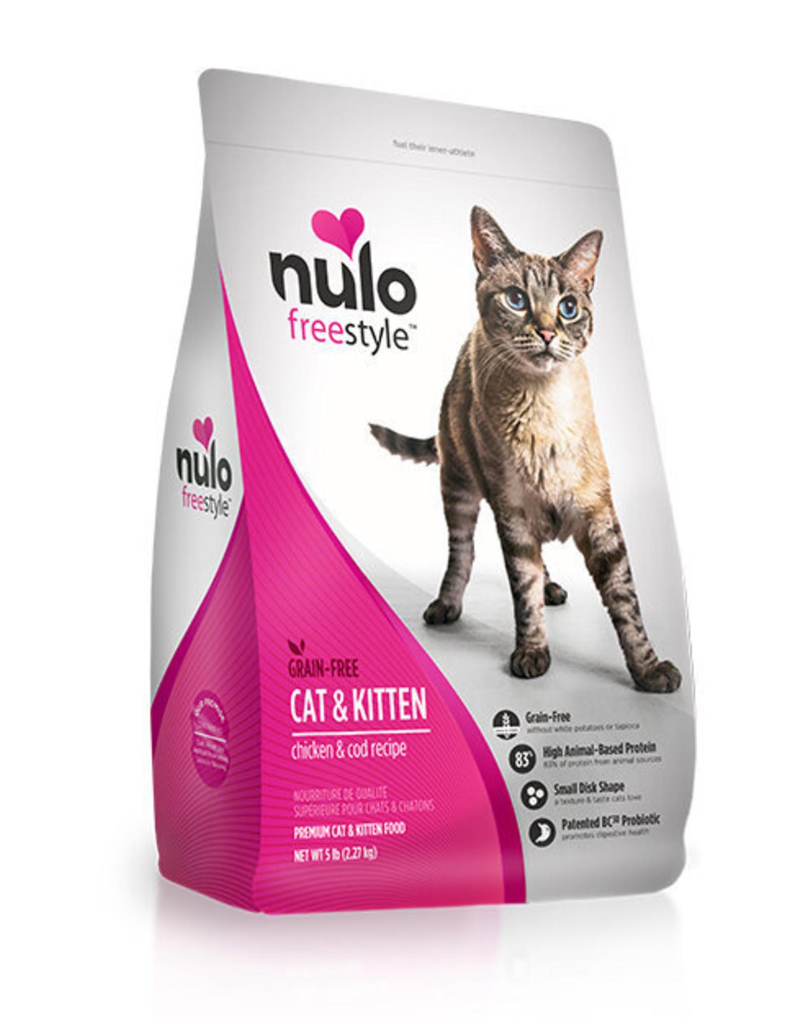 Nulo Nulo Cat - Chicken & Cod 5lb
