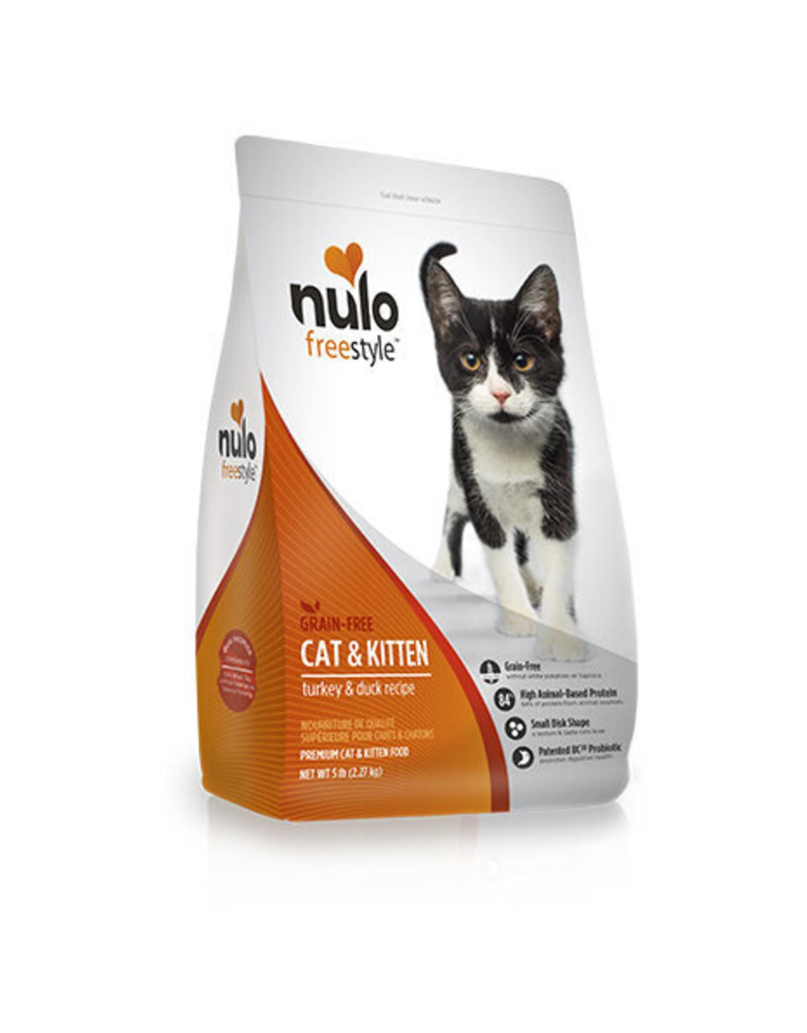 Nulo Nulo Cat - Turkey & Duck 5lb