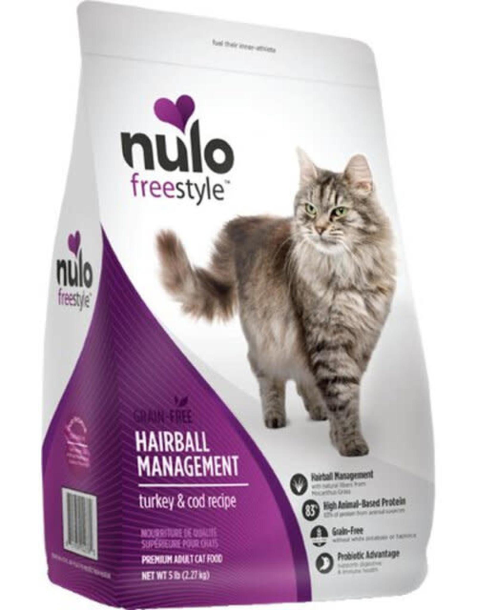 Nulo Nulo Cat - Hairball Turkey & Cod 5lb