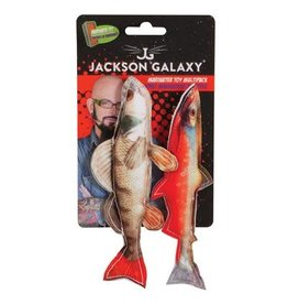 Jackon Galaxy Marinater Photo Fish 2pk catnip