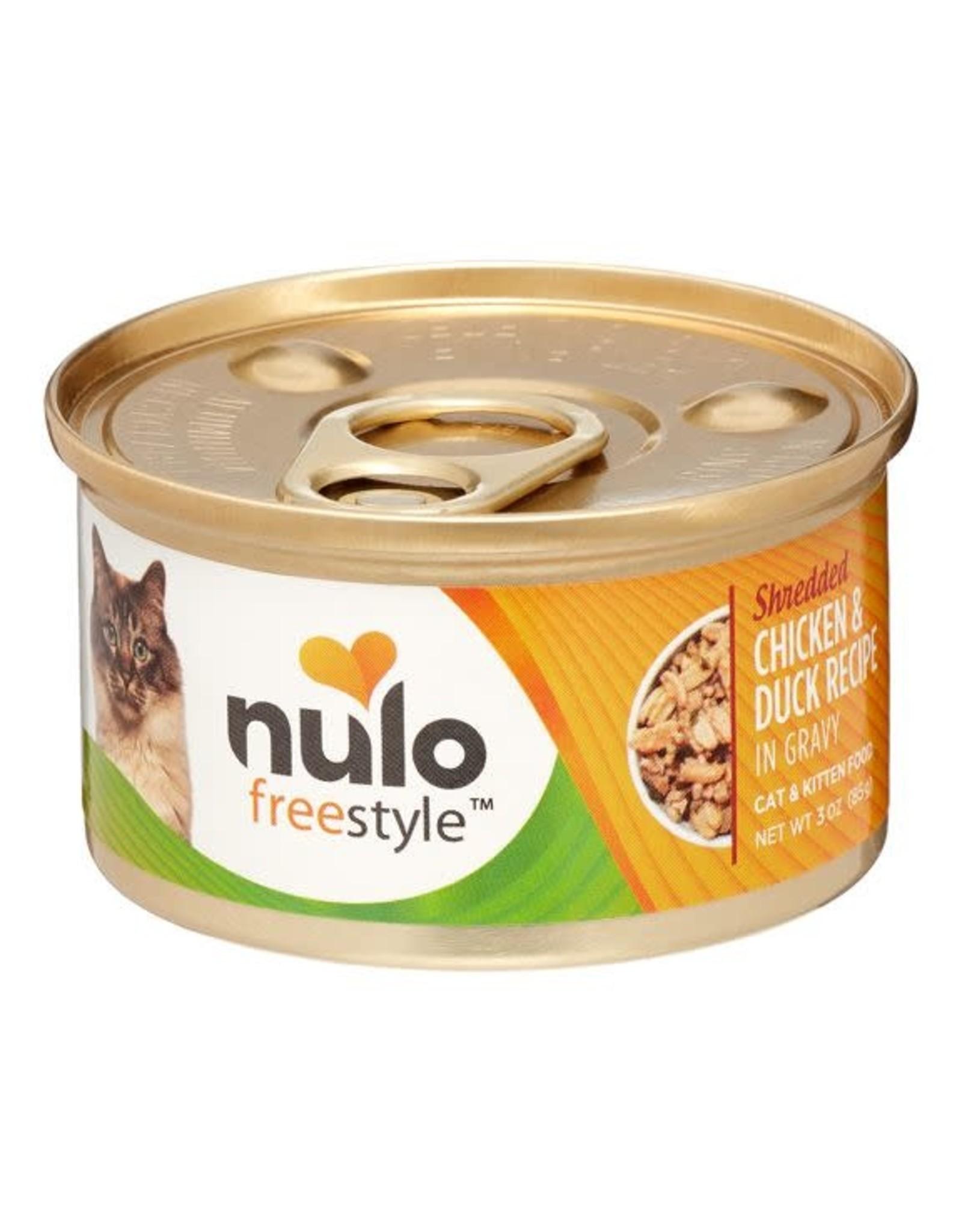 Nulo Nulo Cat - Shredded Chicken & Duck 3oz