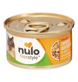 Nulo nulo freestyle cat - shredded chicken/duck 3oz