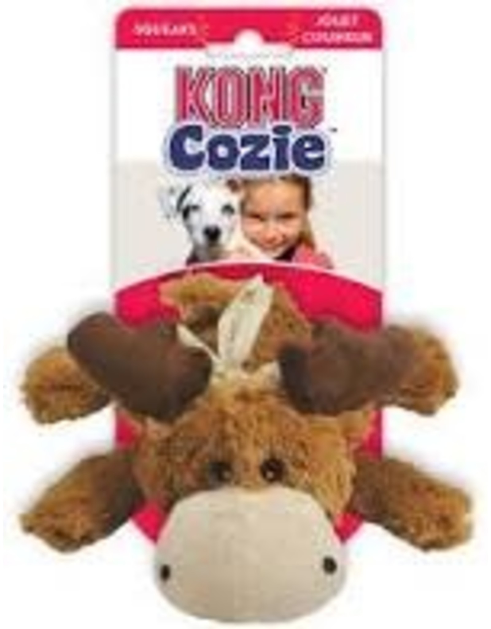 Kong Dog Toy - Cozie Moose S