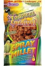 brown's 4 ct. Honey/Calcium Spray Millet (Orange)