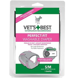 vets's best comfort fit disposable female diaper small dog