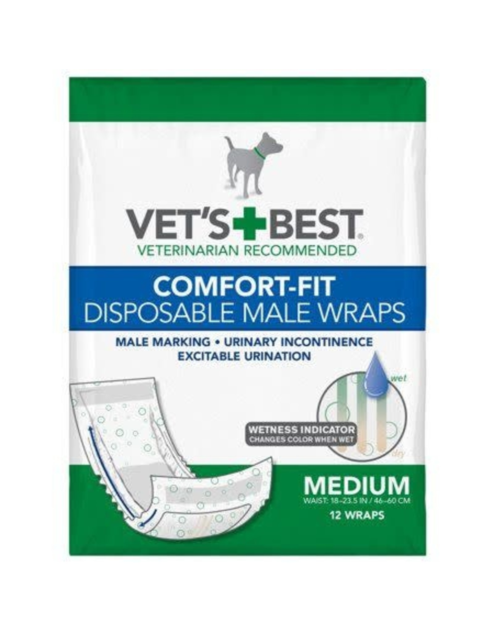 vets's best Vets best medium dog diaper disposable