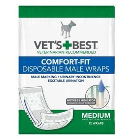 vets's best Vets best medium dog diaper disposable