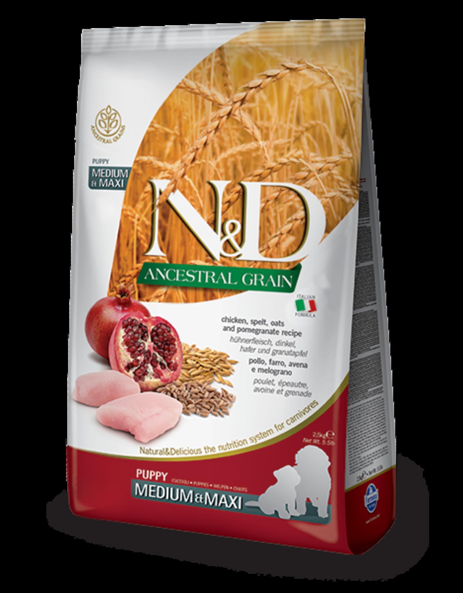 Farmina N&D Dog - Grain Puppy Chicken Med/Max 5.5lb