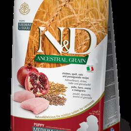 Farmina N&D Dog - Ancestral Grain Puppy Chicken/Pomergranate Mini 5.5lb