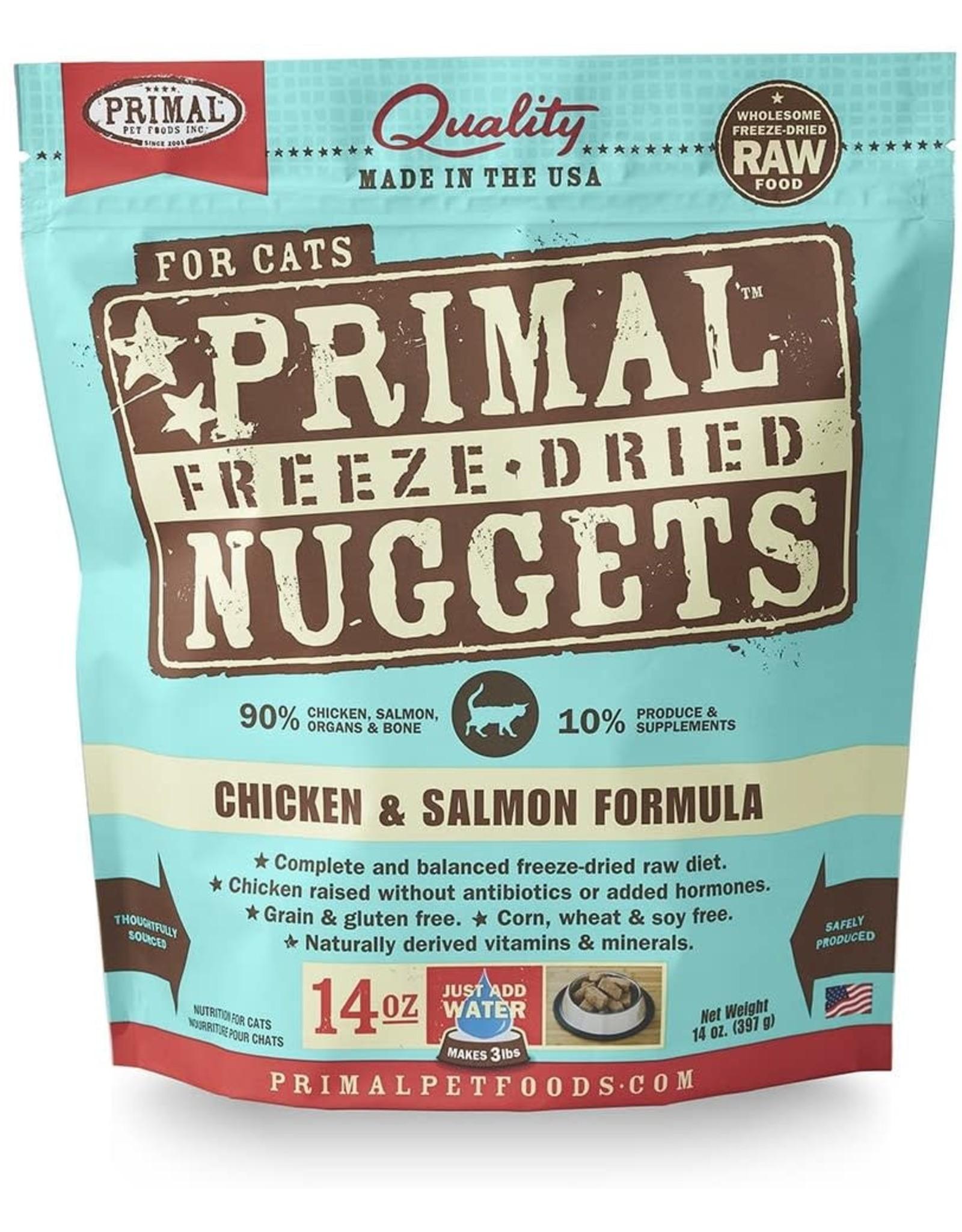 Primal Primal Cat - Chicken/ Salmon 14oz
