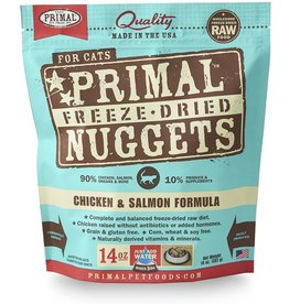 Primal Primal Cat Freeze Dried Chicken and Salmon 14oz