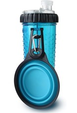 DEXAS Snack-Duo w/ Companion Cup Blue