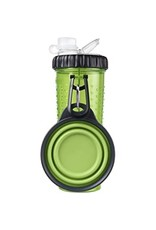 DEXAS Snack-Duo w/ Companion Cup Green