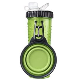 DEXAS Snack-Duo w/ Companion Cup Green