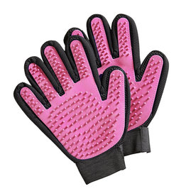 cats brush glove  pink