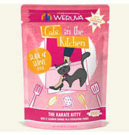 Weruva CITK Pouch - THE KARATE KITTY Beef/Salmon pate 3oz
