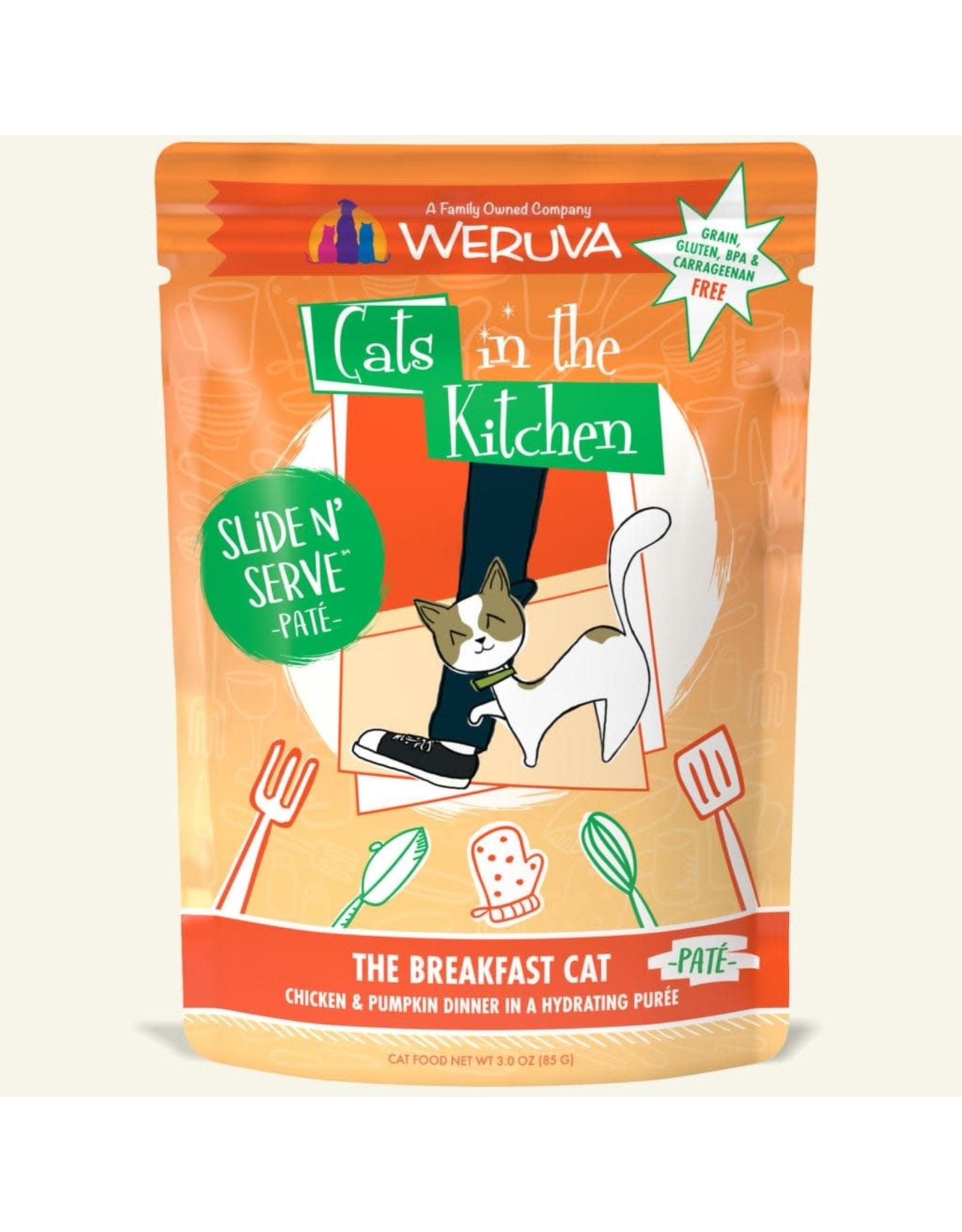 Weruva CITK Pouch - THE BREAKFAST CAT 3oz