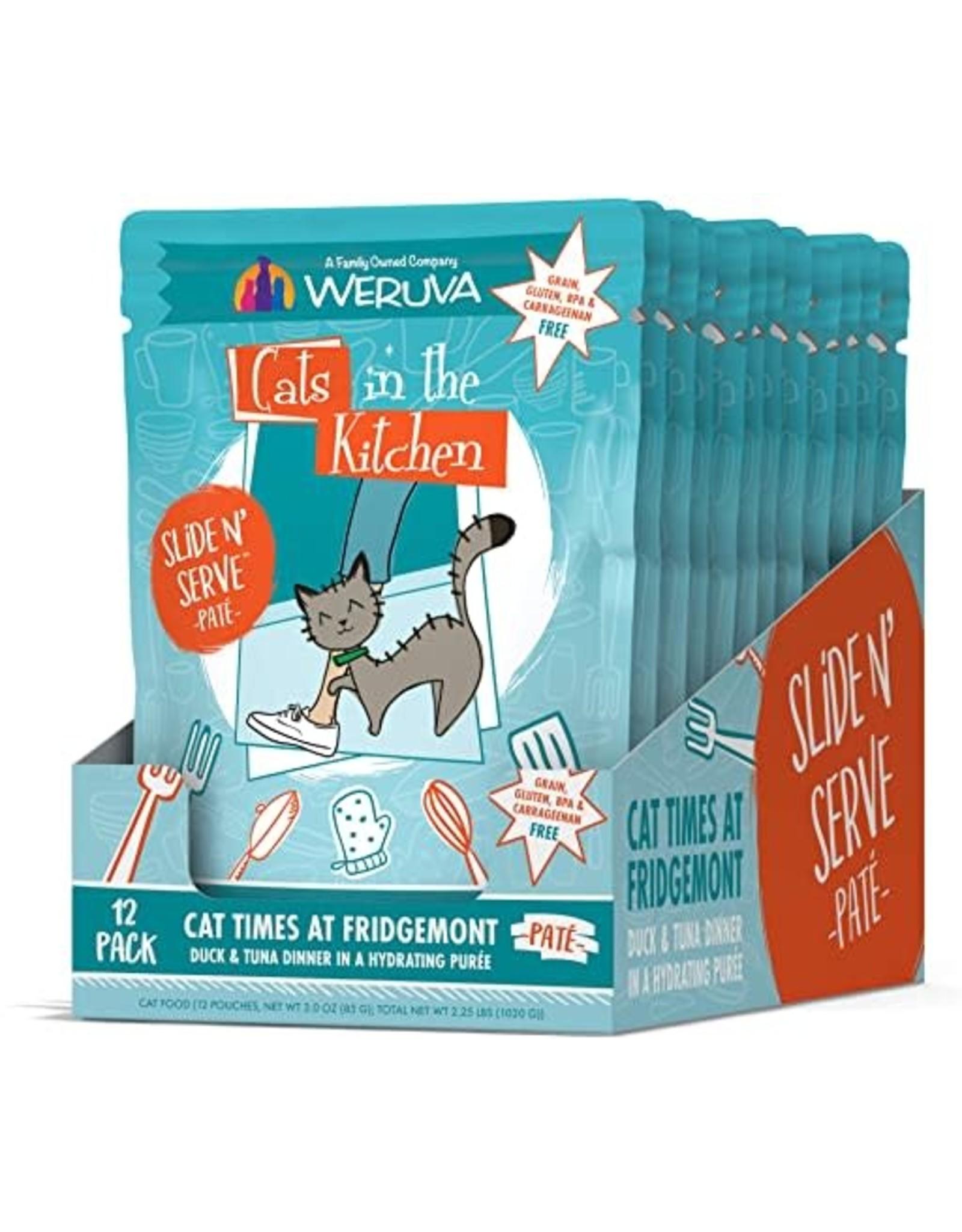 Weruva CITK Pouch CAT TIMES AT FRIDGEMONT 3oz