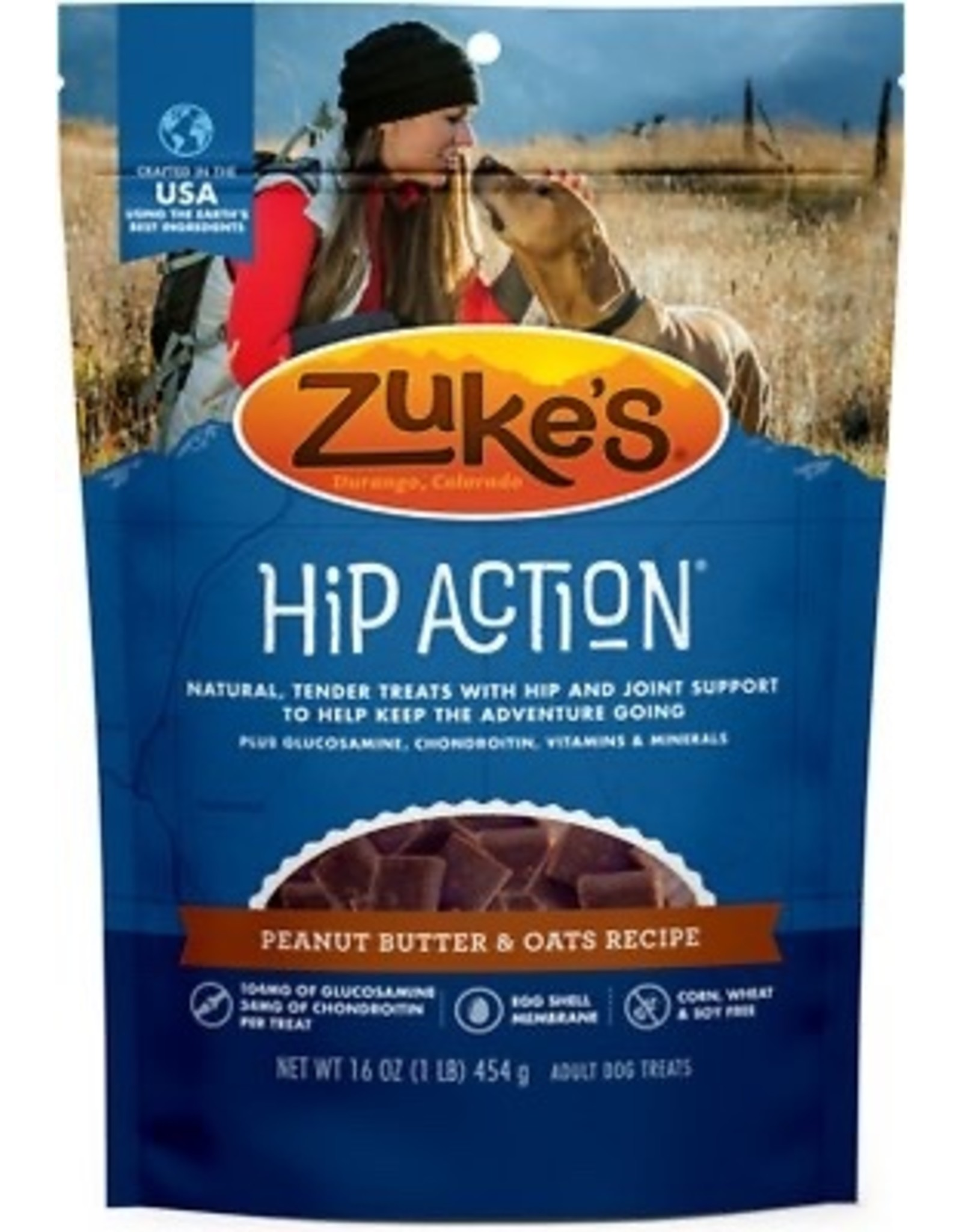 Zukes Hip Action Peanutbutter 16oz